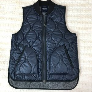 Madewell | Reversible quilted Vest Small